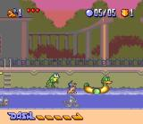 Disney's Bonkers SNES Playing with toy ducks, Bonkers?