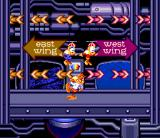 Bubsy II SNES Menu design in the SNES version is different from the one of Genesis release
