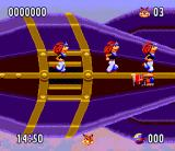 Bubsy II SNES Killed by similarly looking guys