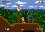 Bubsy II Genesis Get away from me, you pig!
