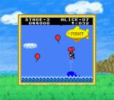 Balloon Kid Game Boy Color Collect consecutive balloons for a bonus.