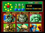 King of the Monsters Neo Geo Monster Selection