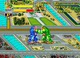 King of the Monsters Neo Geo Brother against brother