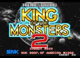 King of the Monsters 2: The Next Thing Neo Geo Title