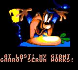 Bugs Bunny in Double Trouble Game Gear What an invention, indeed...