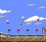 Bugs Bunny in Double Trouble Game Gear Parachuting