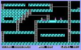 Lode Runner PC Booter Burn away the ground for the enemies to fall in