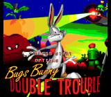 Bugs Bunny in Double Trouble Genesis Title screen