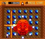 Super Bomberman SNES After hitting this boss, some energy balls will appear.