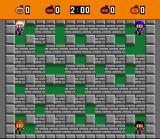 Super Bomberman SNES The Normal Zone is the Battle Mode's basic level. Looks like a training mode...