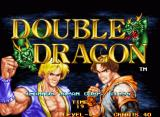 Double Dragon Neo Geo Title screen
