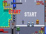 Thrash Rally Neo Geo You're much more vulnerable on your bike in crashes.