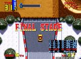 Thrash Rally Neo Geo From snowy fields to the desolate desert...