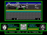 Prvá Akcia ZX Spectrum This bad guy is guarding escape helicopter