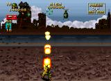 NAM-1975 Neo Geo Using a flamethrower