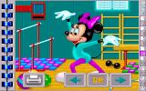 Mickey's Jigsaw Puzzles DOS Acrobatics Puzzle