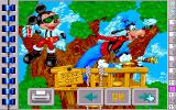 Mickey's Jigsaw Puzzles DOS Treehouse Puzzle