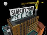 SimCity 2000: Urban Renewal Kit DOS Title Screen