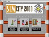 SimCity 2000 Urban Renewal Kit DOS Main Menu