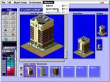 SimCity 2000: Urban Renewal Kit DOS Using the paint program, PAINT THE TOWN...