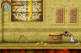 Prince of Persia: The Sands of Time Game Boy Advance Sometimes, you will need to push heavy objects to gain height.