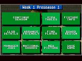 Championship Manager 93 Amiga Game Menu