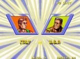 Windjammers Neo Geo VS screen