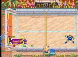 Windjammers Neo Geo Too powerful, I'm thrown in the goal as well