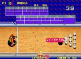Windjammers Neo Geo Second bonus game: bowling