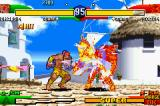 Street Fighter Alpha 3 Game Boy Advance It's a burning fight, boy!