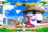 Street Fighter Alpha 3 Game Boy Advance Who will be successful? Two simultaneous moves can make the difference in a match!