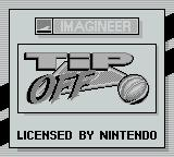 Tip Off Game Boy Title Screen