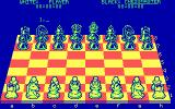 The Chessmaster 2000 DOS Playing chess in 3d