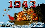 1943: The Battle of Midway Atari ST Title Screen