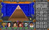 Might and Magic Trilogy DOS The pyramid! Here goes nothing...