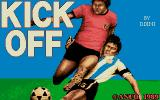 Kick Off Atari ST Title Screen
