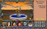 Might and Magic Trilogy DOS Nice! A New World Computing fountain!!