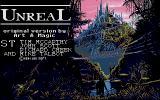 Unreal Atari ST Title Screen