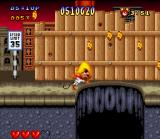 Speedy Gonzales in Los Gatos Bandidos SNES Collect cheeses is a suffering!