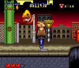 Speedy Gonzales in Los Gatos Bandidos SNES Kick the head makes the reasoning back to normal? In this fool cat NOT!