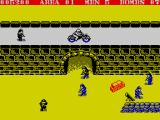 Commando ZX Spectrum Red crates are full of grenades