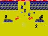 Commando ZX Spectrum Get rid of dangerous mortars first
