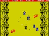 Commando ZX Spectrum Hazardous passage and a lot of soldiers