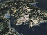 Flight Unlimited III Windows Overhead view over the Seattle city...