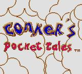 Conker's Pocket Tales Game Boy Color Title screen (in Game Boy Color)