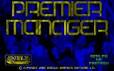 Premier Manager Atari ST Title Screen