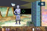 BackTrack Game Boy Advance A skeleton with a rifle! And it's wearing boots?