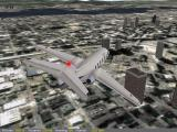 Flight Unlimited III Windows Seattle under a Beechjet 400A...