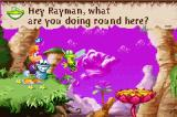Rayman 3 Game Boy Advance To talk with Murfy, find some smiling magical stones...