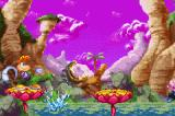 Rayman 3 Game Boy Advance This guy is very hunger! But you will defeat before its lunch...